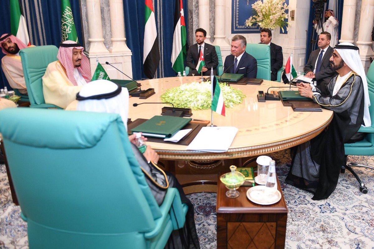محمد بن راشد يترأس وفد الإمارات في قمة مكة وإقرار حزمة مساعدات للأردن بقيمة 2.5 مليار دولار