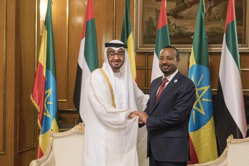 محمد بن زايد يزور أثيوبيا ويعلن عن دعم اقتصادها بـ 3 مليارات دولار