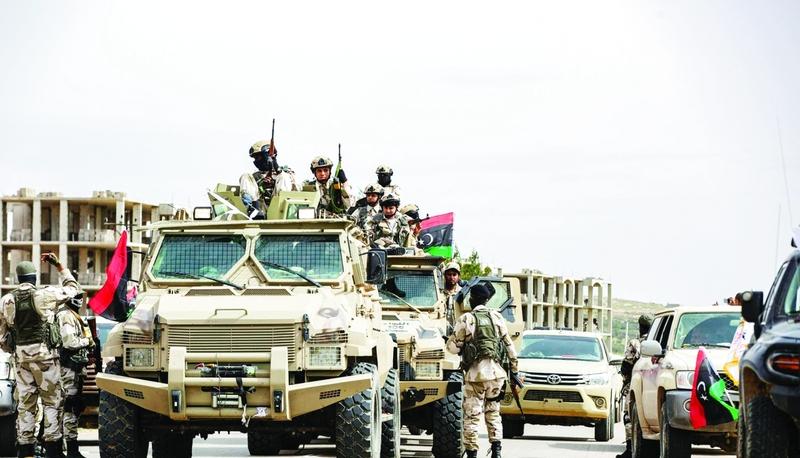 خطة التحرك التركي في ليبيا في ظل التواجد العسكري للإمارات ومصر وروسيا فيها