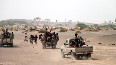 جنود يمنيون ينسحبون من جبهات القتال مع الإمارات في الساحل الغربي