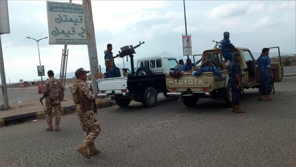 اشتباكات مسلحة بين قوات يمنية وأخرى مدعومة إماراتياً في عدن
