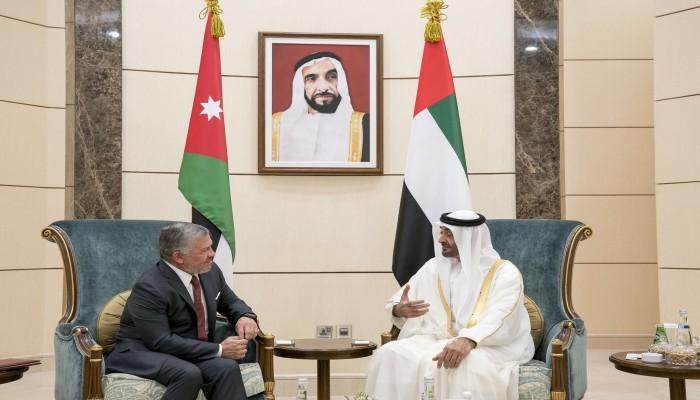 الإمارات تعلن دعمها للأردن بـ300 مليون دولار