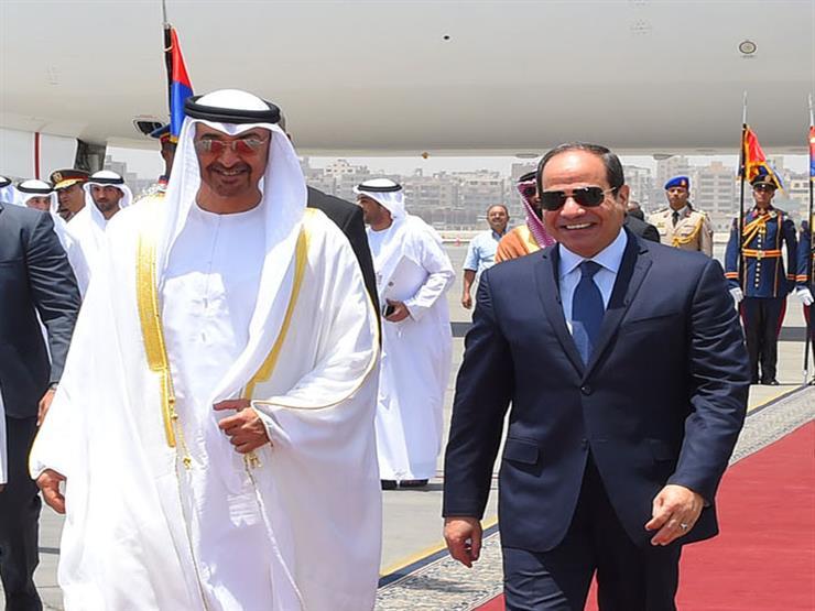 محمد بن زايد يلتقي السيسي في القاهرة ويبحث معه العلاقات بين البلدين
