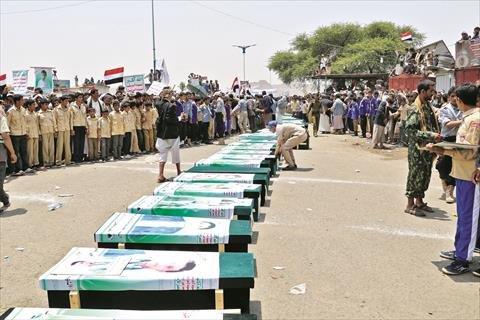 رايتس ووتش تحذر من الاستجابة لضغوط تهدف إلغاء التحقيق في جرائم الحرب باليمن