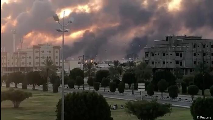 الحوثيون يتبنون الهجوم على أرامكو السعودية...وبومبيو يتهم إيران بالمسؤولية