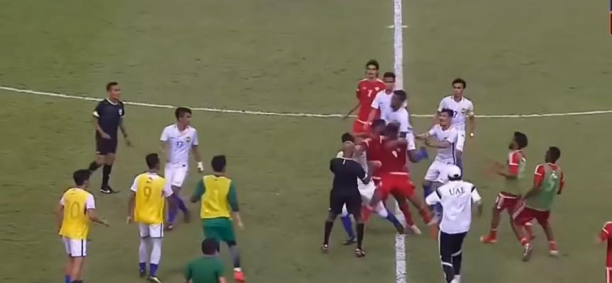 الإمارات تعتذر لماليزيا عن أحداث مباراة لكرة القدم في كوالالمبور