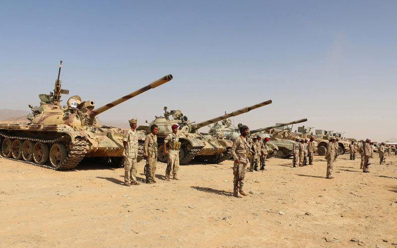 الإمارات : حشود عسكرية تتجه للحديدة استعداداً لعملية عسكرية برية وبحرية واسعة