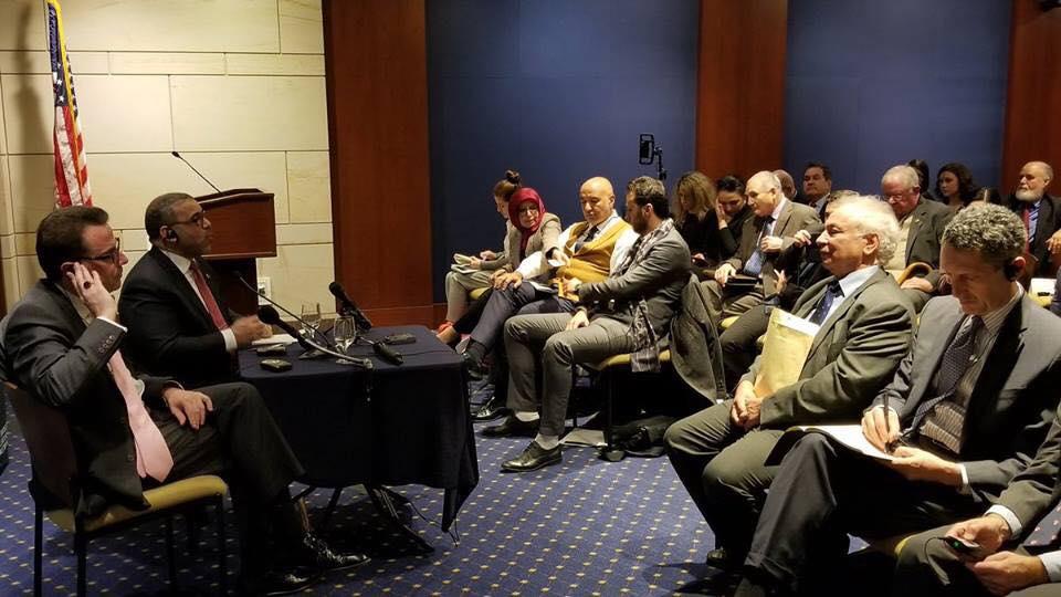 في خطاب له بالكونغرس..رئيس المجلس الليبي الأعلى يتهم الإمارات ومصر بتعطيل الديمقراطية في ليبيا