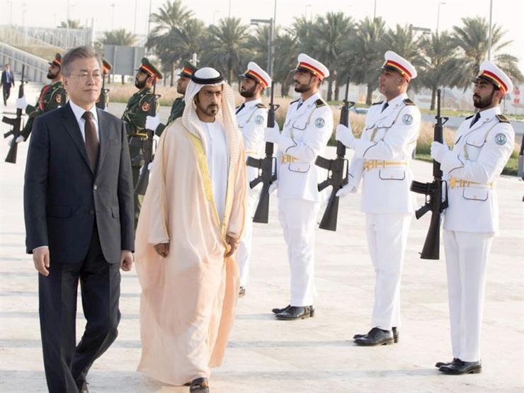 وزير الدفاع الكوري الجنوبي يتفقد قوات بلاده في الإمارات