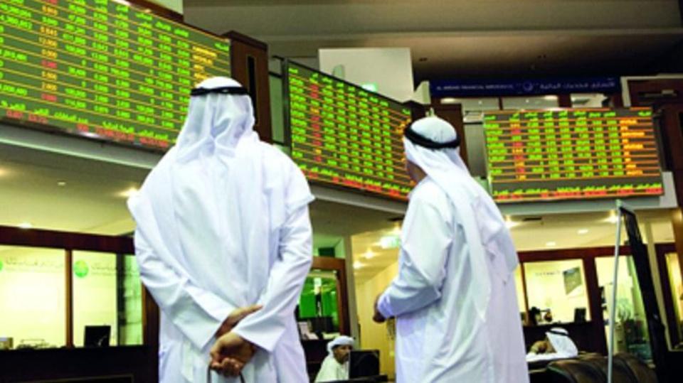 تراجع البورصة في دبي وأبوظبي