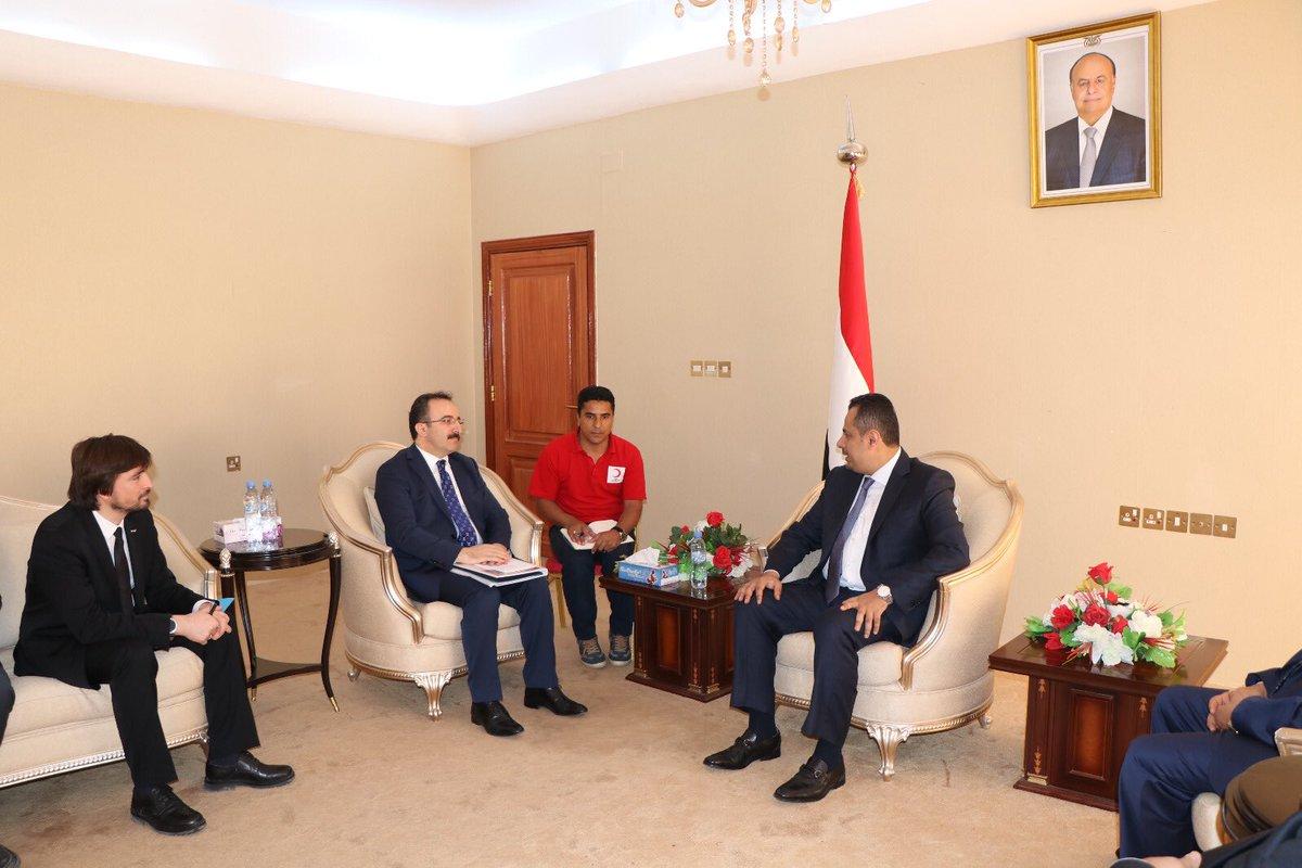 الامارات تدعو وزير الداخلية اليمني لزيارتها بعد لقاءه مسؤولاً تركيا في عدن