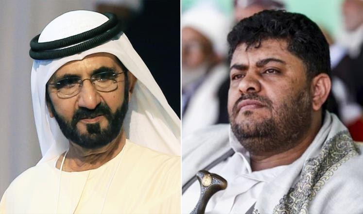قيادي حوثي لحاكم دبي: ليست التغريدات ما شوّه صورة الإمارات بل الحروب