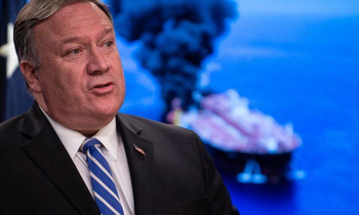 واشنطن تحمل إيران مسؤولية الهجوم على ناقلتي النفط في خليج عُمان