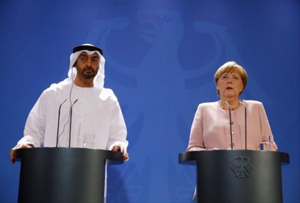 الإمارات وألمانيا تطالبان إيران بوقف التصعيد في المنطقة