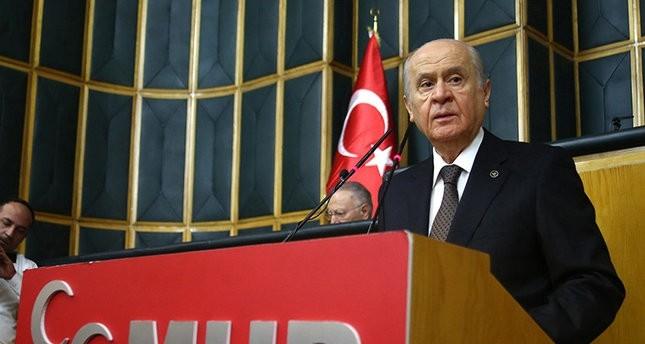 زعيم الحركة القومية التركي يحذر من دعم الإمارات والسعودية للوحدات الكردية في سوريا