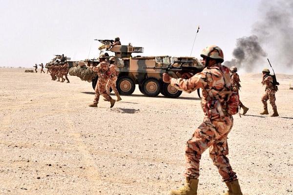 قوات عسكرية عمانية تصل الإمارات للمشاركة في تمرين مشترك مع القوات الإماراتية
