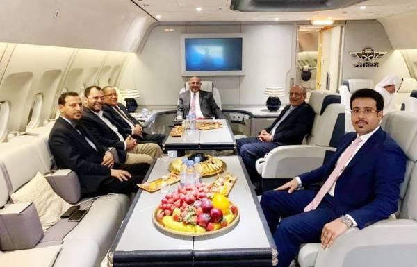 وفد من قيادات الانتقالي الجنوبي اليمني يصل إلى الإمارات