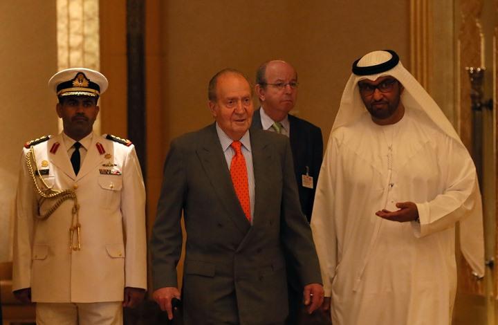 ملك إسبانيا السابق المتورط في قضايا فساد يتوجه إلى أبوظبي كمنفى له