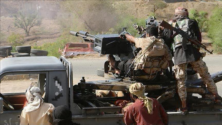 تصاعد الإشتباكات بين القوات الحكومة ومليشيات مدعومة إماراتياً في تعز جنوب اليمن