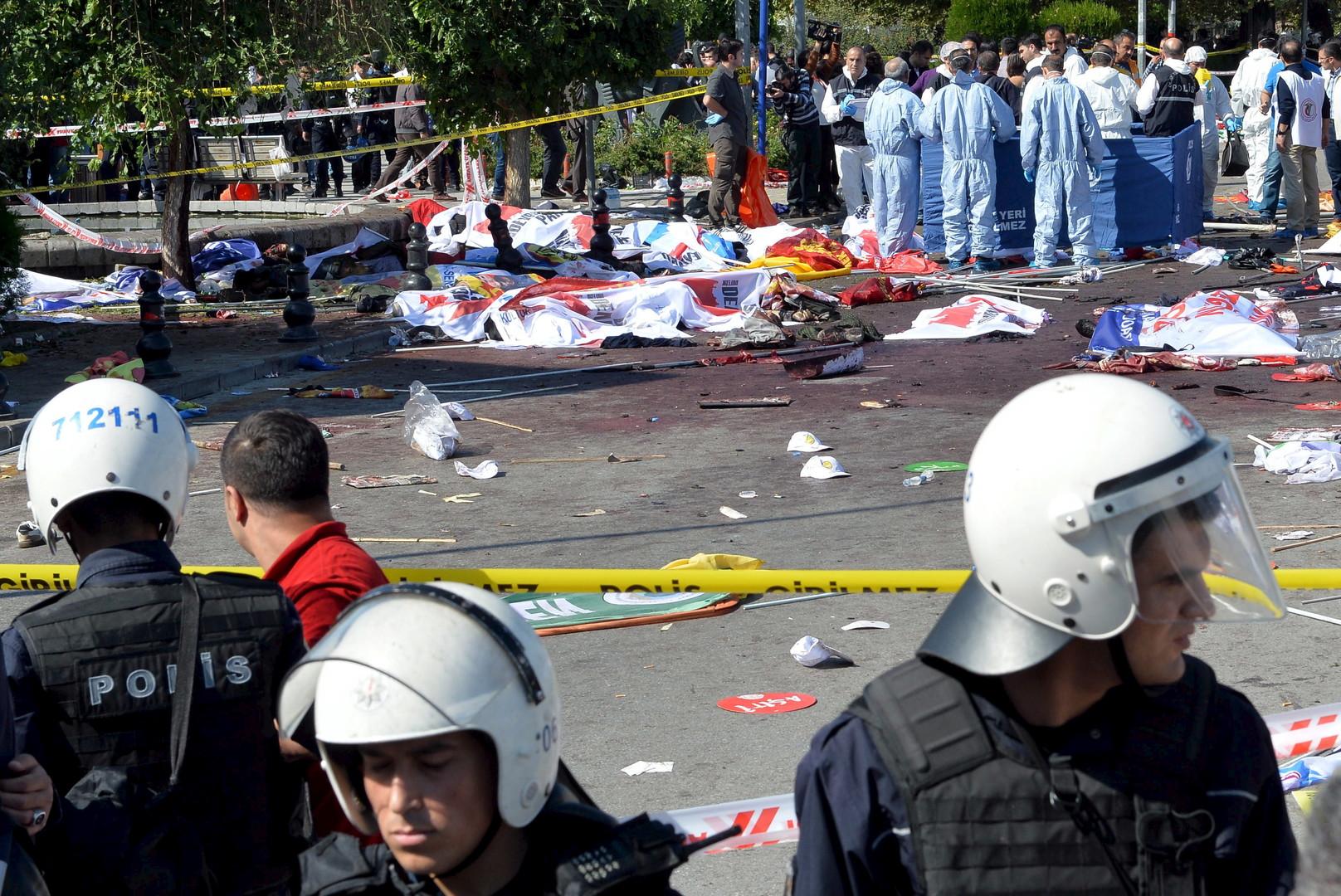 تضامن إماراتي مع تركيا في مواجهة الإرهاب.. بعد تفجيرات أنقرة
