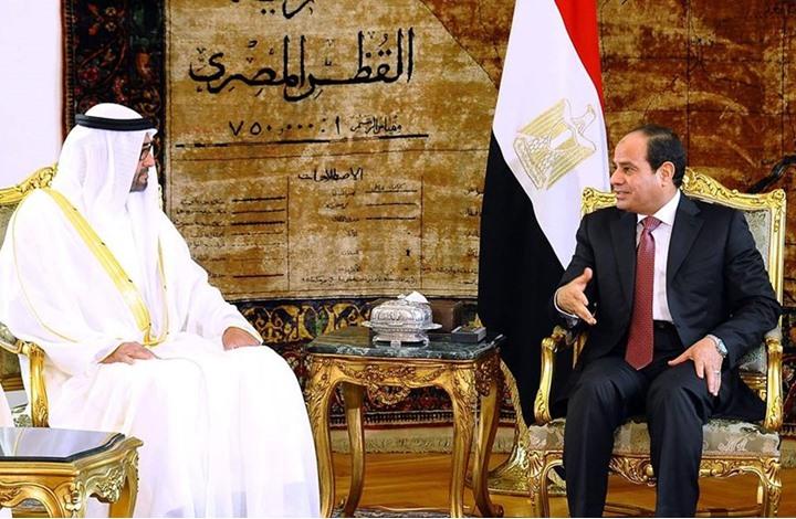 السيسي يستقبل ولي عهد أبو ظبي بزيارة مفاجئة للقاهرة