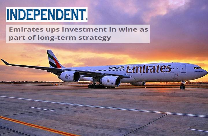 «طيران الإمارات» فخورة بجودة الخمور بإنفاق 140 مليون دولار في 2015