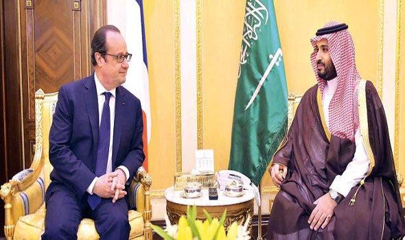 محمد بن سلمان يتوجه إلى فرنسا للقاء الرئيس أولاند